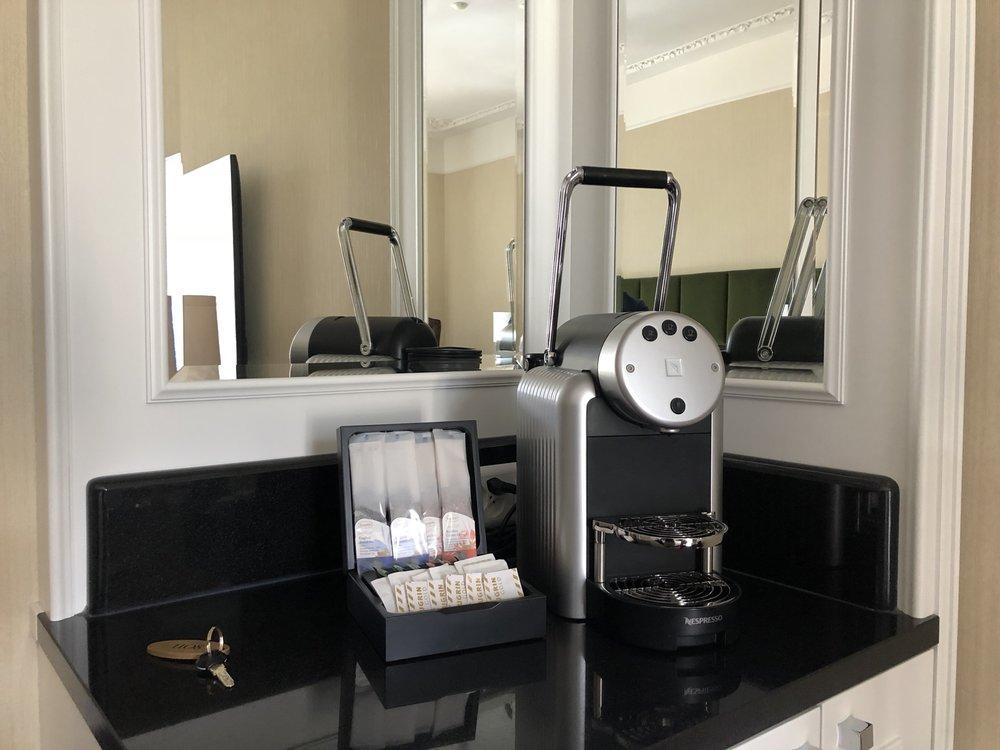 The obligatory Nespresso machine