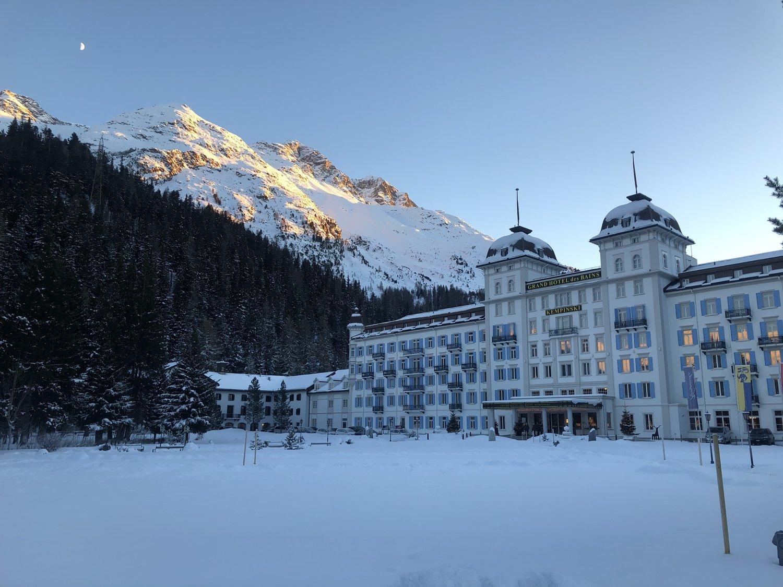Review - Grand Hotel des Bains Kempinski - Festive Season in St. Moritz — Continental Traveller