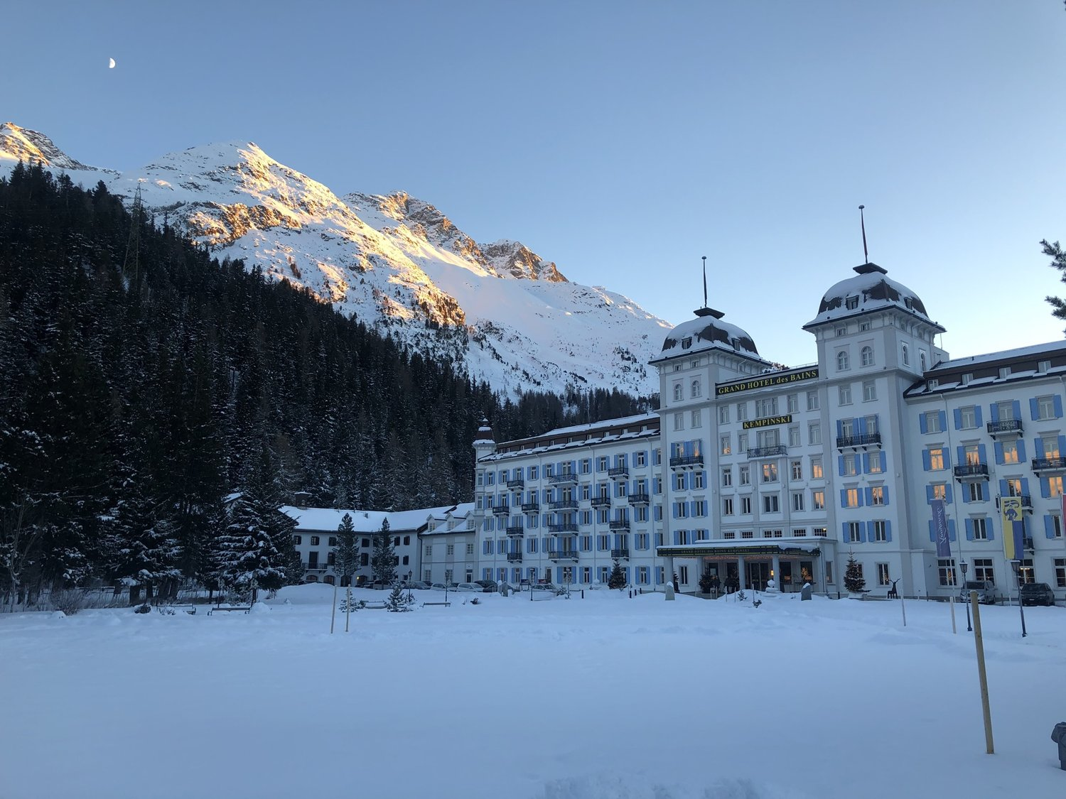 Review - Grand Hotel des Bains Kempinski - Festive Season in St. Moritz — Continental Traveller