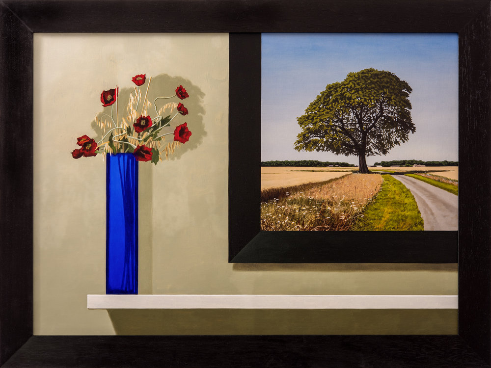 Nick Cudworth 'Landscape within a still life'