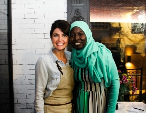 Sudanese Cooking Class with Fatima featured in Edible Cleveland.