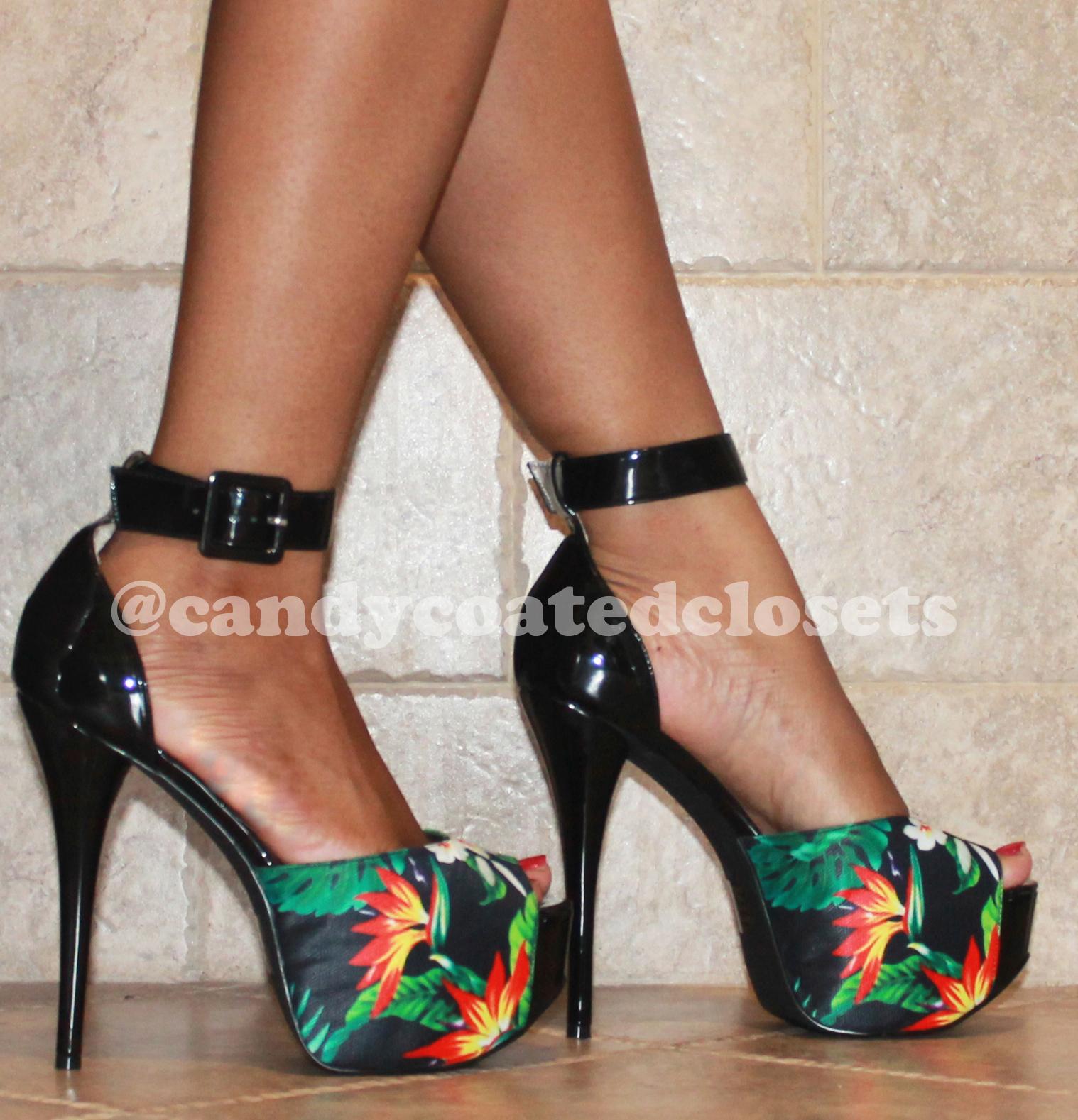 Luichiny Cara Floral Platform Sandal 2