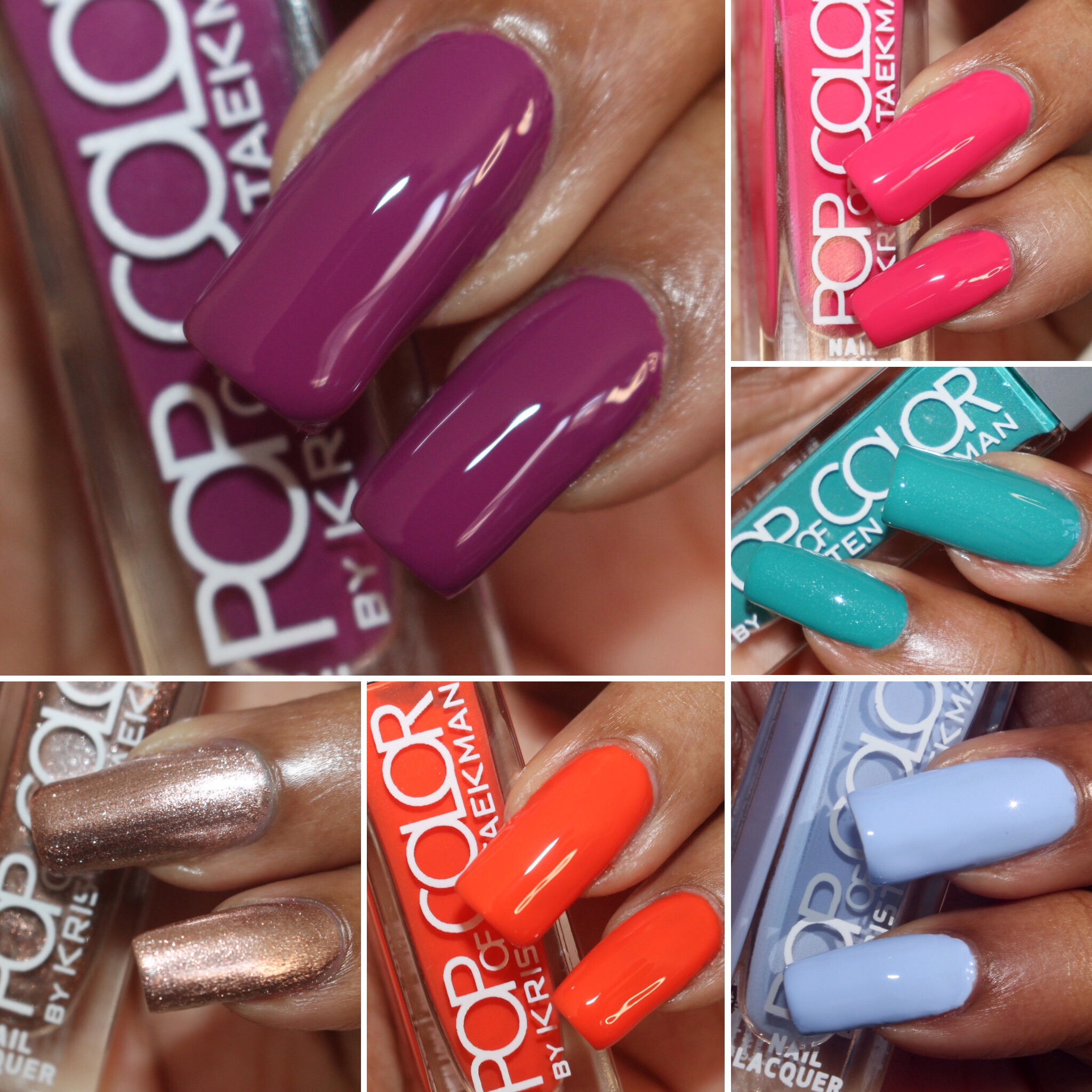 Pop Of Color By Kristen Taekman Nail Polish Review And