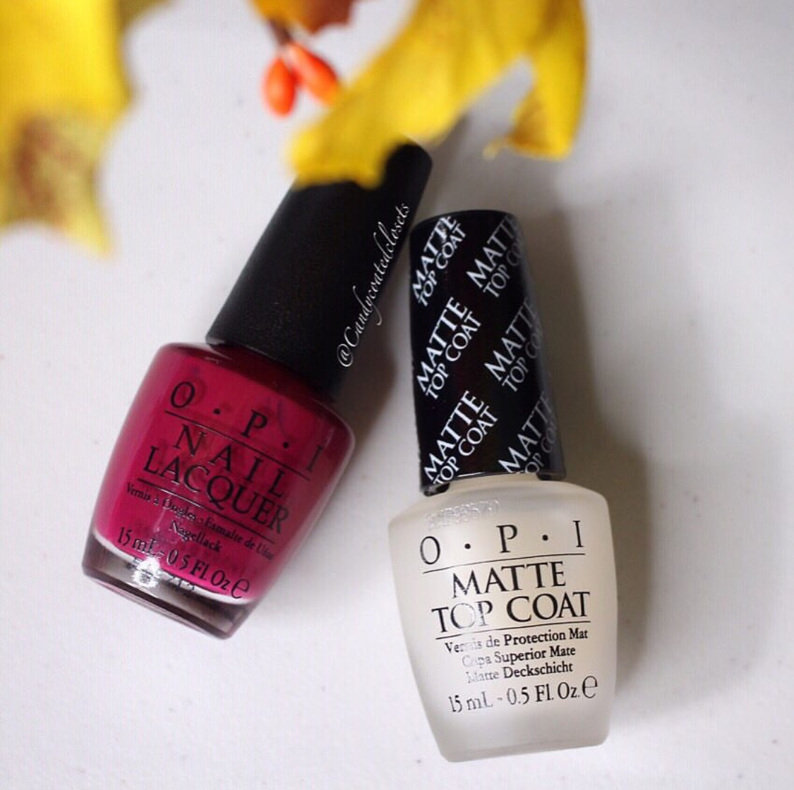 How to Make Your Shiny Nail Polish Matte with OPI Nail Lacquer and ...