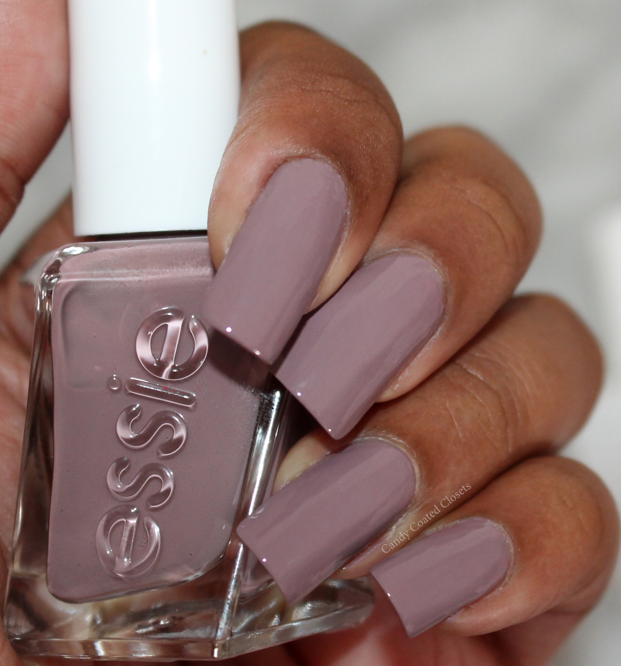 Essie Gel Couture Nail Polish - Take Me to Thread Swatch and Wear ...
