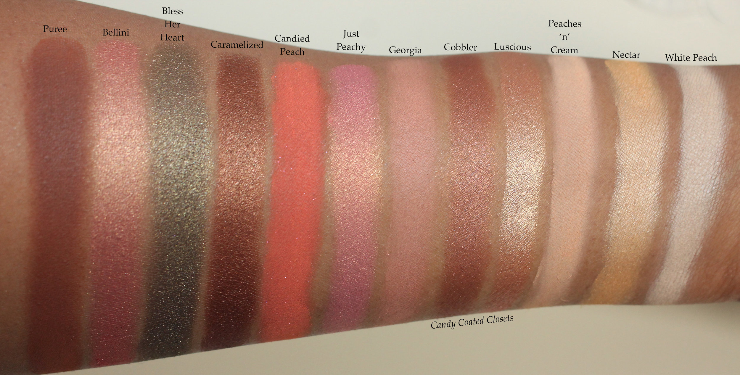 Sweet Peach Eye Shadow Palette by Too Faced #11