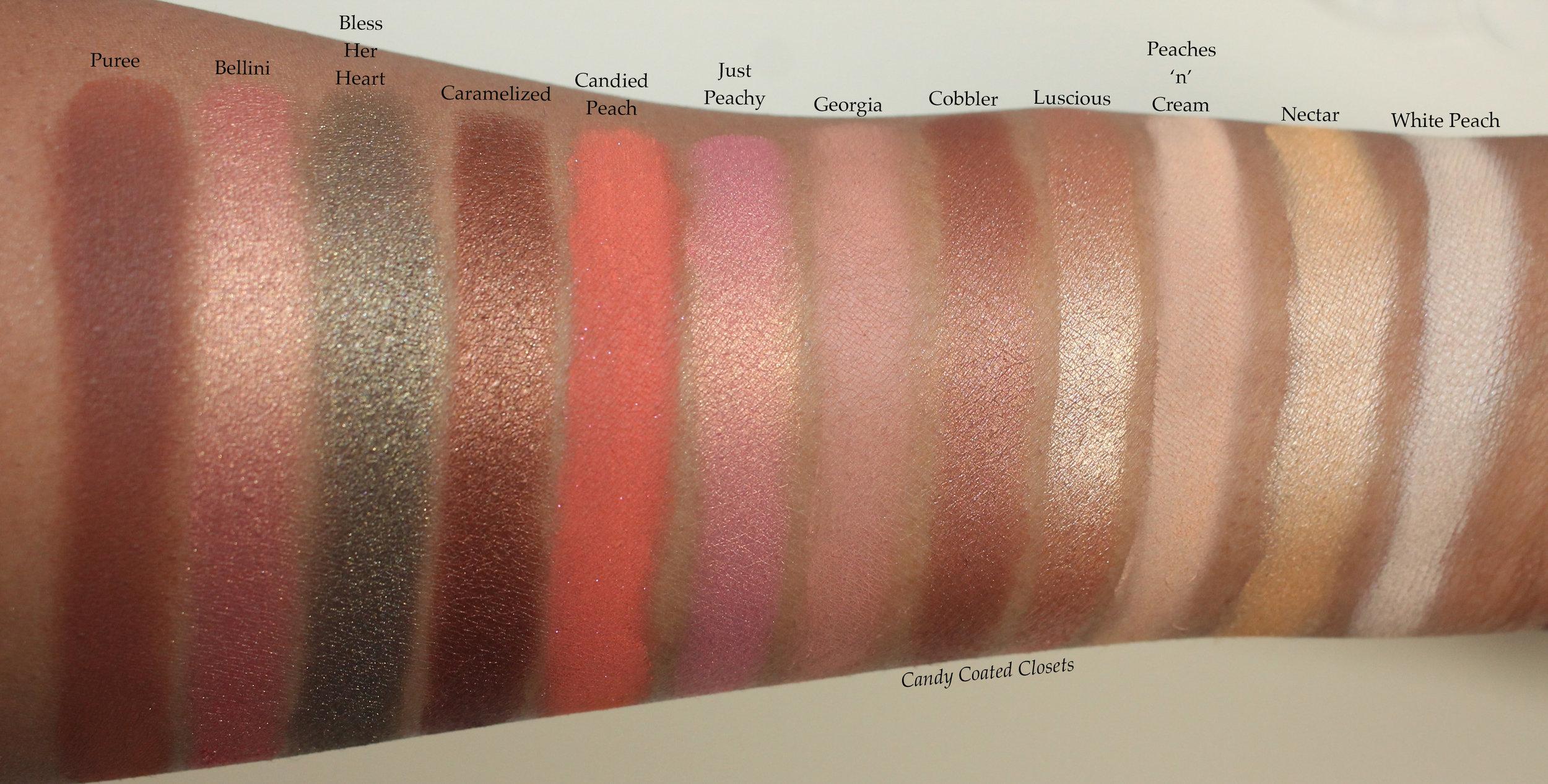 Peach Color Eyeshadow Palette