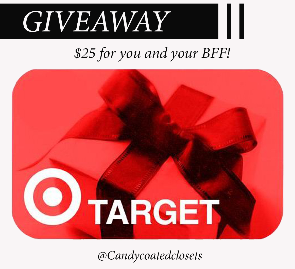 Target Giveaway Photoshop