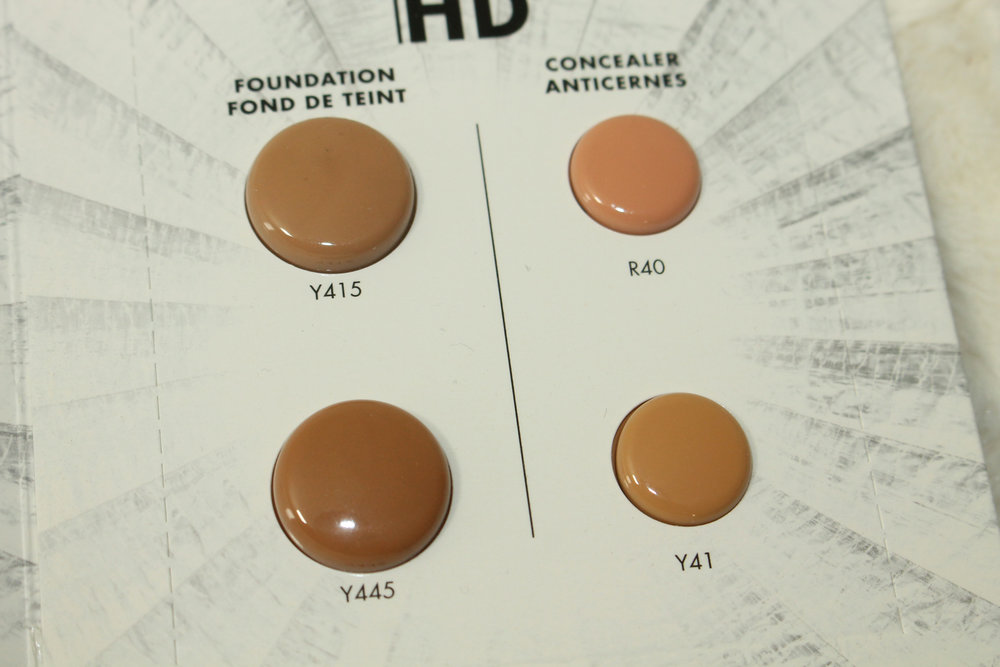 Make Up For Ever Ultra Hd Foundation And Concealer Review And Swatches Y415 Y445 R40 Y41 Candy Coated Closets