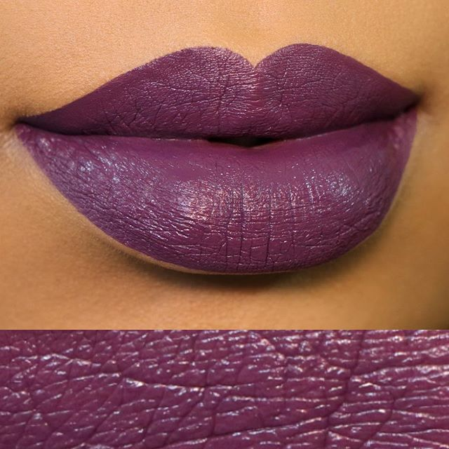-Alexa play Fight Song- . . Longest break of my life but my work career was 🤯anyway to hit you back with some swatches of the new @fentybeauty lip paints. First up is Undefeated (this purple beasttttt). I'm going to put up a video of the swatches shortly with my thoughts on the formula.