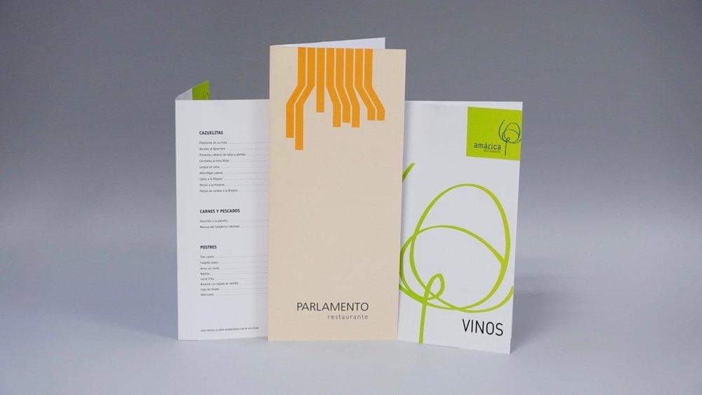 Cartas de restaurante