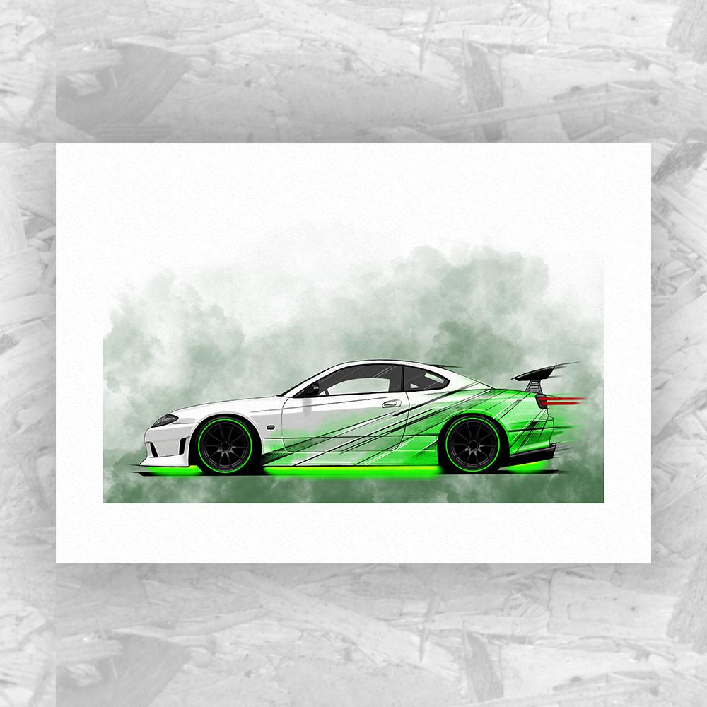 Nissan Silvia S15 Street Racer