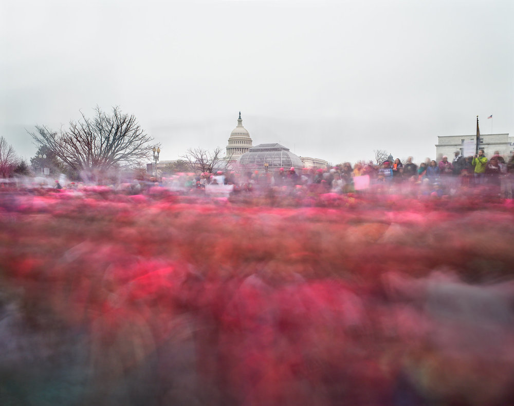 Women's March on Washington, Jan. 21, 2017. Credit: Matthew Pillsbury for The New York Times