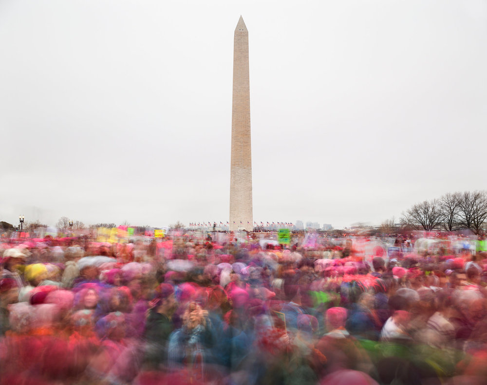 Women's March on Washington, Jan. 21, 2017. CreditMatthew Pillsbury for The New York Times