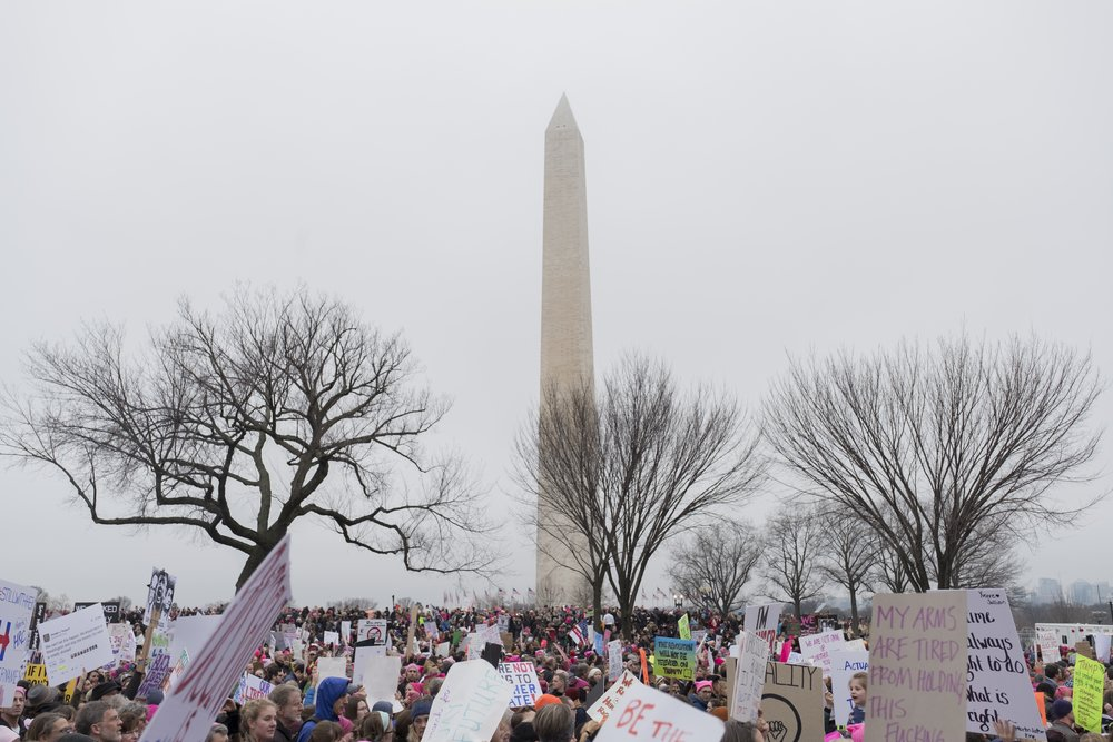Women's March on Washington, Jan. 21, 2017. Photo Credit: Katie Orlinsky