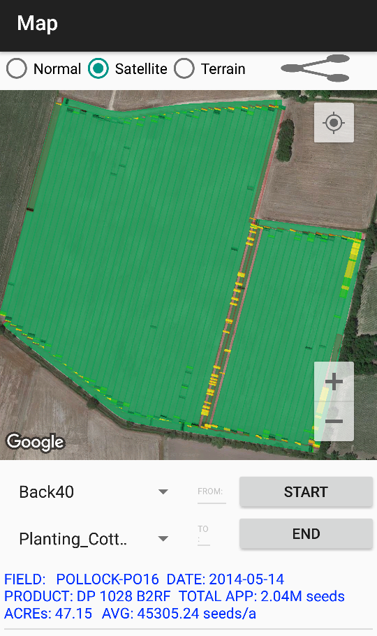AGBRIDGE™ as-applied maps are available to view and share right from the mobile app!