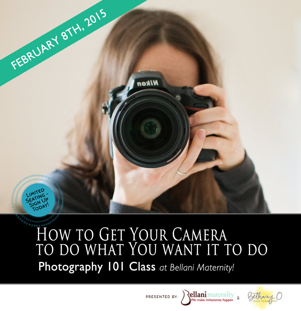 RI Photography class - photography workshop at Bellani Maternity