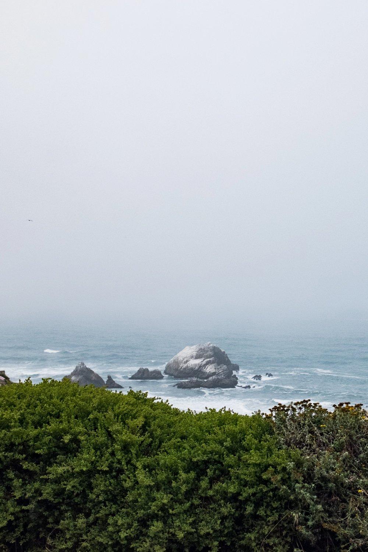 Foggy coastal views never get old