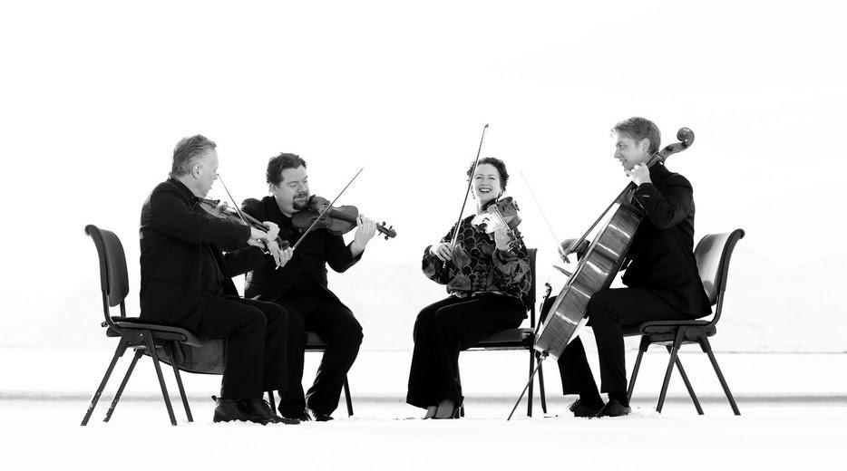 Engegård Quartet, St David's Hall, Cardiff
