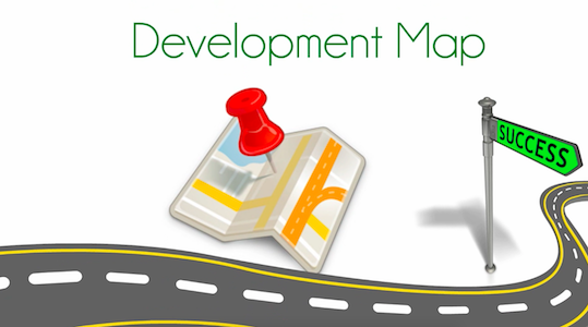 Development Maps: The Bridge from One-off to a Complete Development on