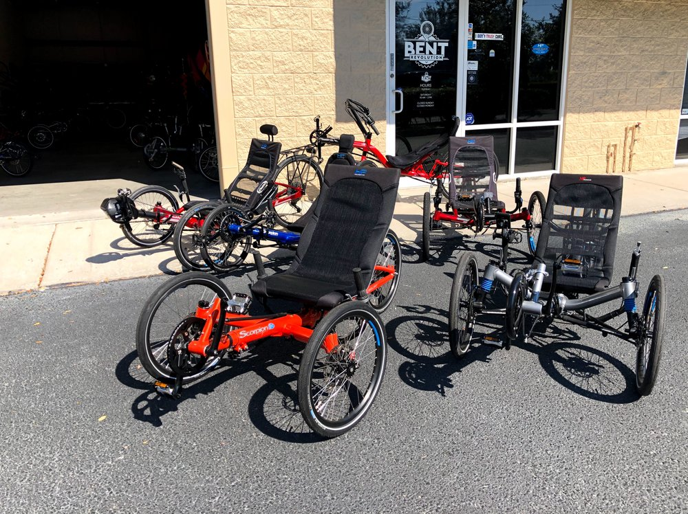 A Small Selection of our HP Demo bikes and trikes