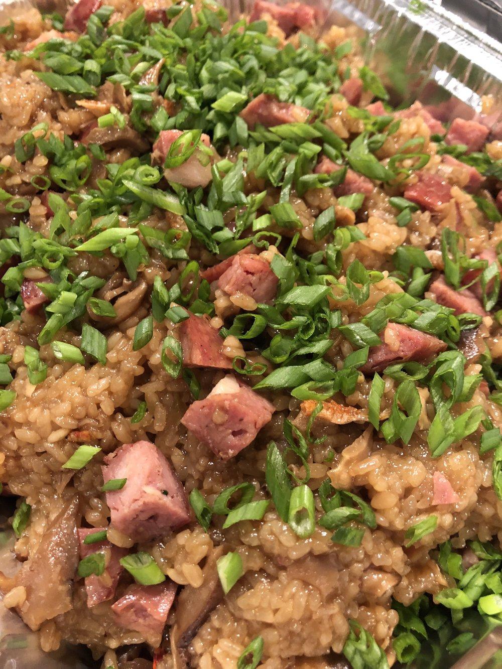 Taiwanese Sausage Sticky Rice
