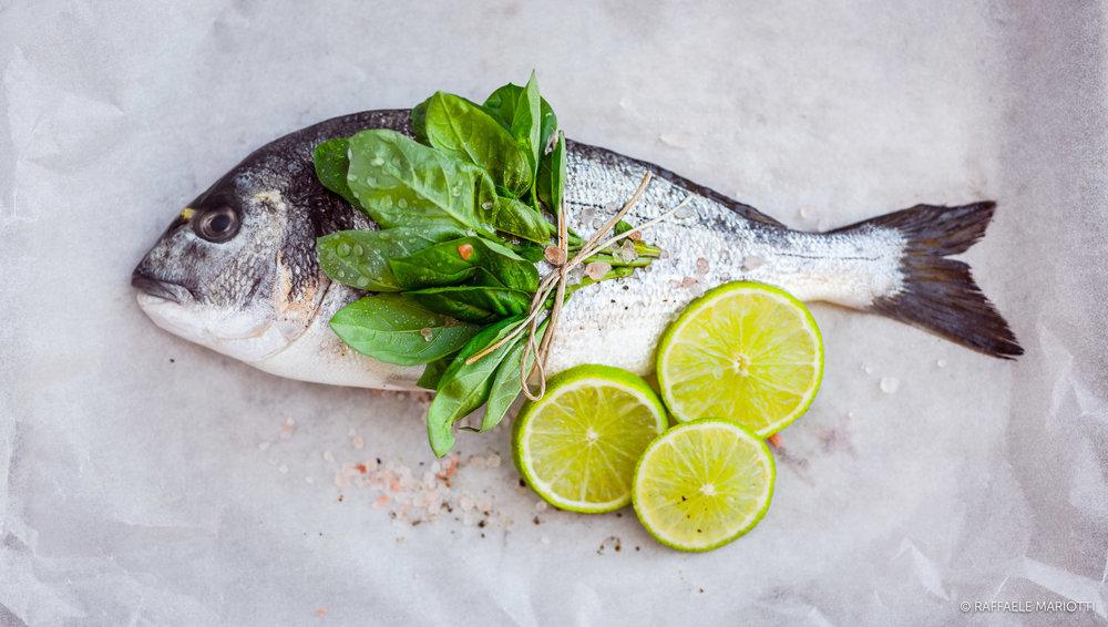 Orata  – Raffaele Mariotti fotografo food