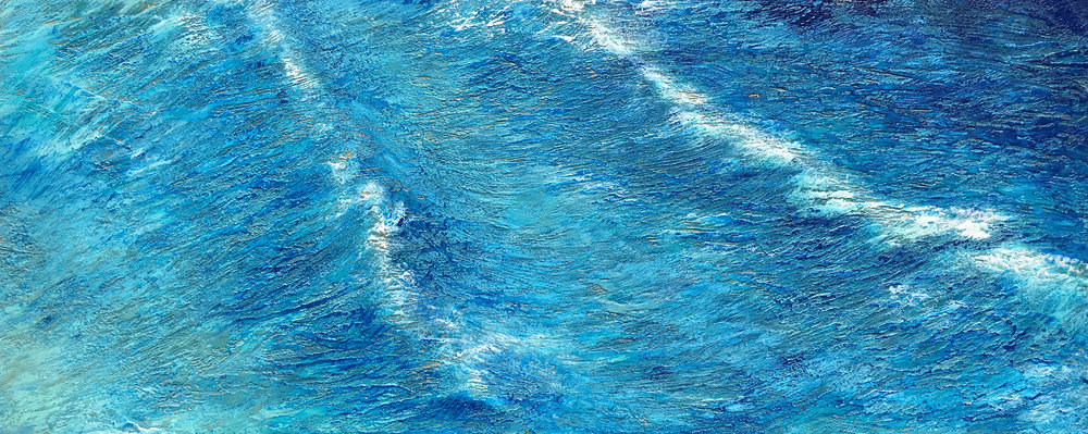 A Wave is nothing but an ocean 24 x 60.jpg