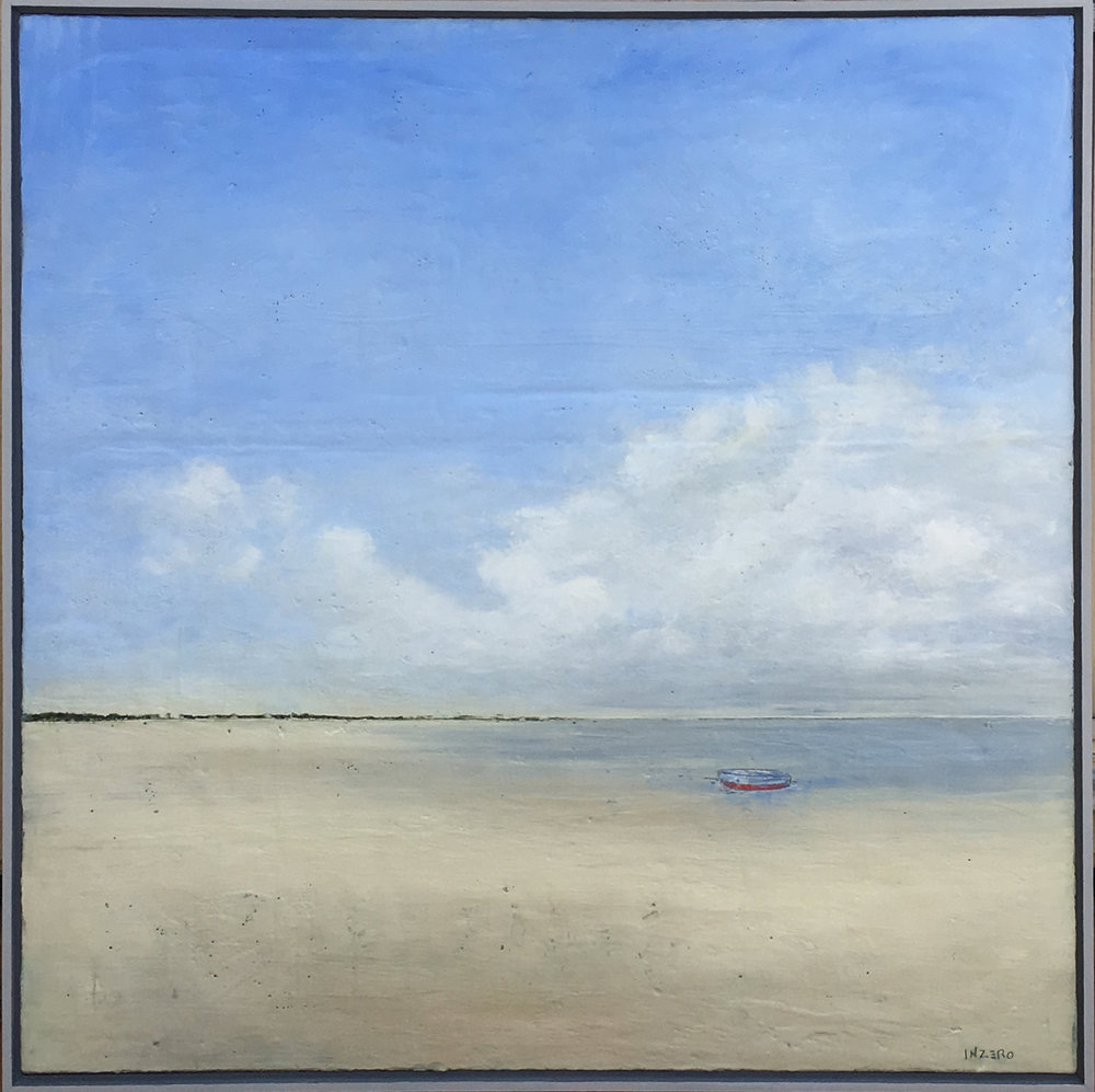 "50"" x 50""  Encaustic on panel  SOLD"