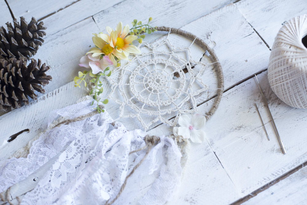 Crochet Dreamy Dreamcatcher Pattern Megmade With Love