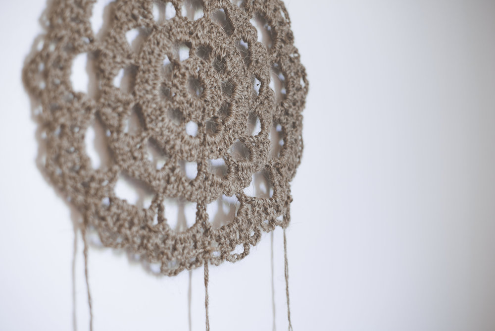 A Free Pattern For The Jute Farmhouse Dreamcatcher Megmade With Love