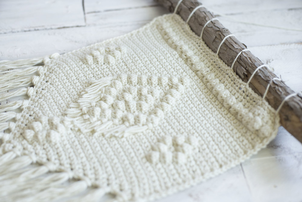 Free Crochet Pattern The Bohemian Wall Hanging Megmade With Love