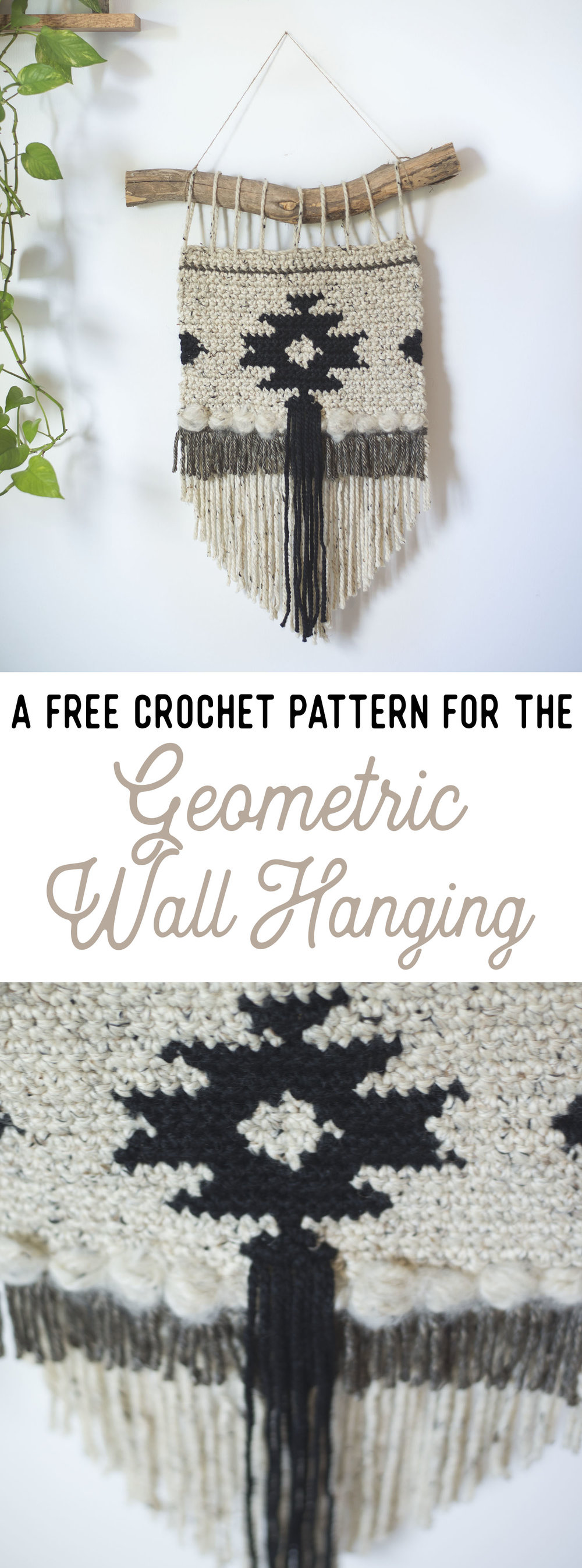 Geometric Wall Hanging | by Meg Made With Love