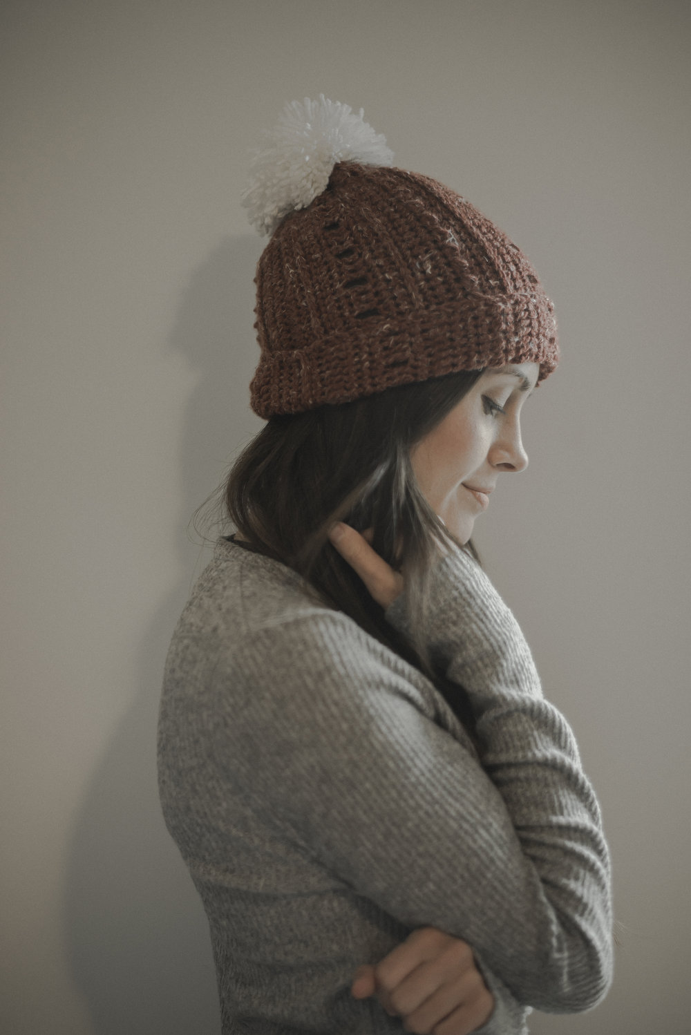 4478164b47a Free Crochet Pattern for a Super Simple   Slouchy Beanie — Megmade ...
