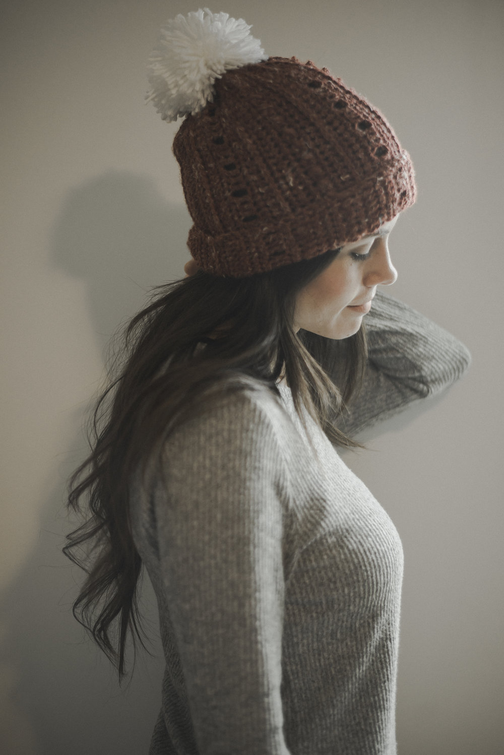 Free Crochet Pattern For A Super Simple Slouchy Beanie Megmade