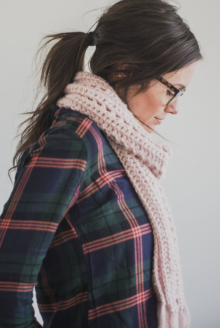 Free Crochet Pattern For The Andie Scarf Megmade With Love