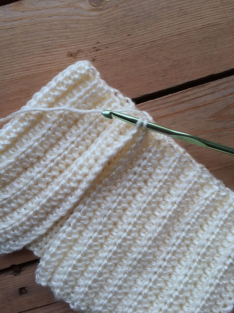 Free Crochet Pattern For The Snowdrift Slouch Megmade With Love