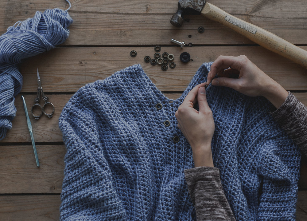 How to Apply Eyelets to Your Crochet Projects - Megmade with Love