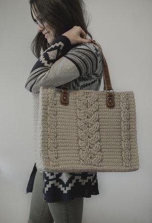 Crochet Cross-Body Bag - Free Crochet Pattern — Megmade with Love