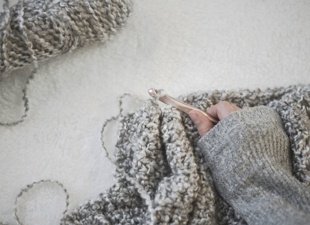 A Few Helpful Tips For Working With Homespun Yarn Megmade With Love