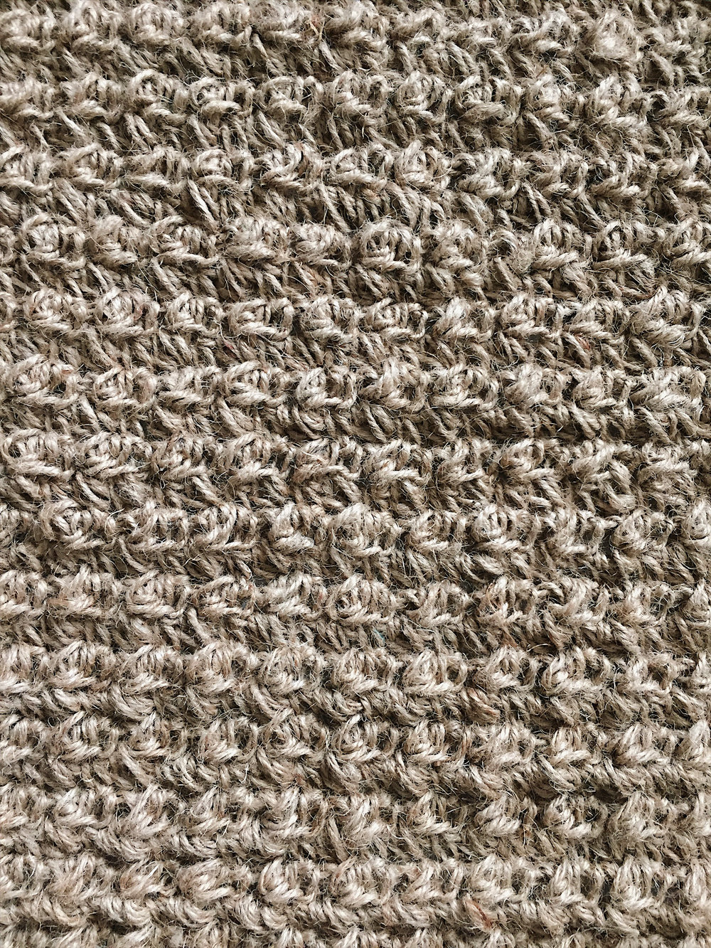 simple rug patterns. Free Crochet Pattern For A Texture Jute Rug Doormat - Megmade With Love Simple Patterns I