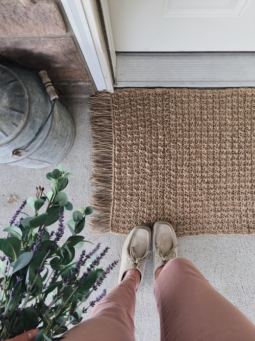 35b009a23 Free Crochet Pattern for a Textured Jute Rug — Megmade with Love
