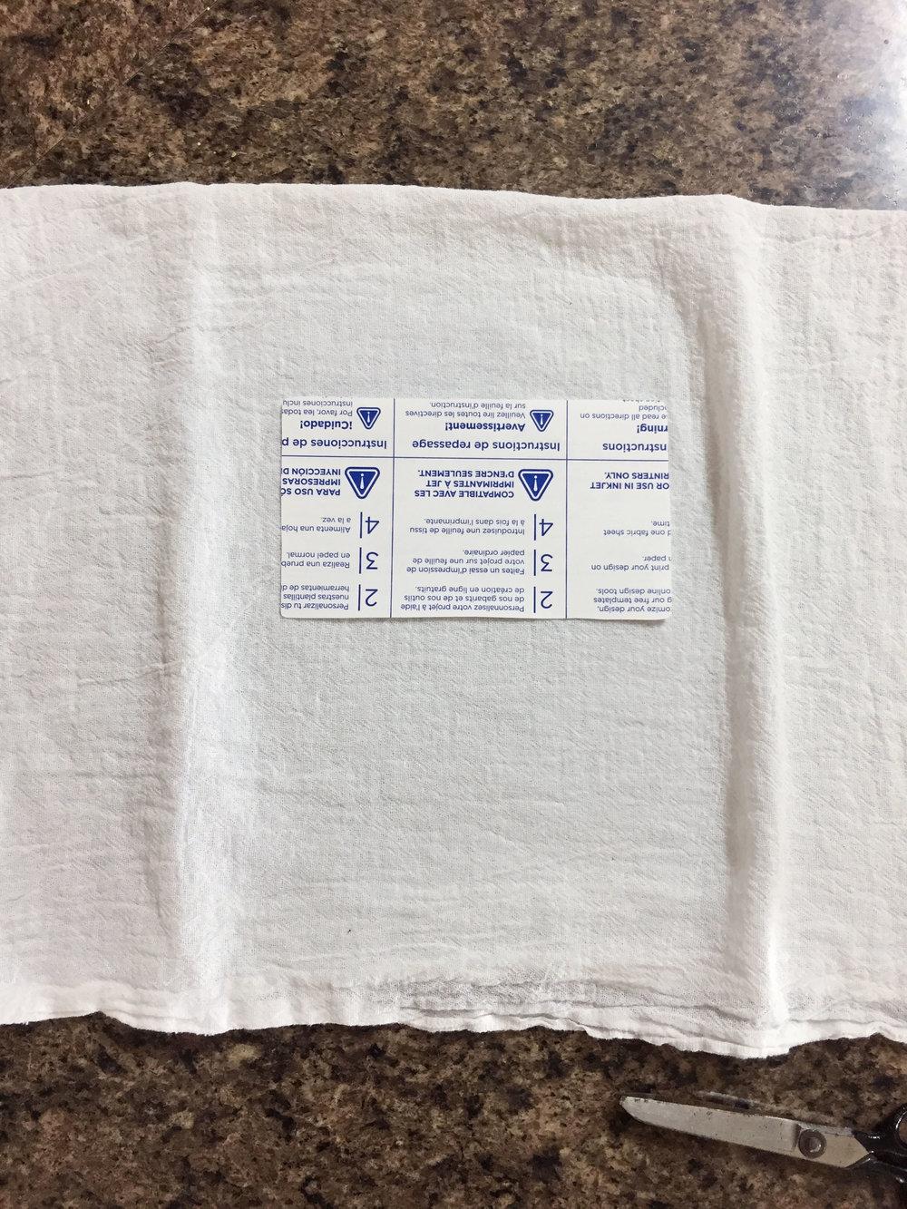 Crochet Recipe Towels