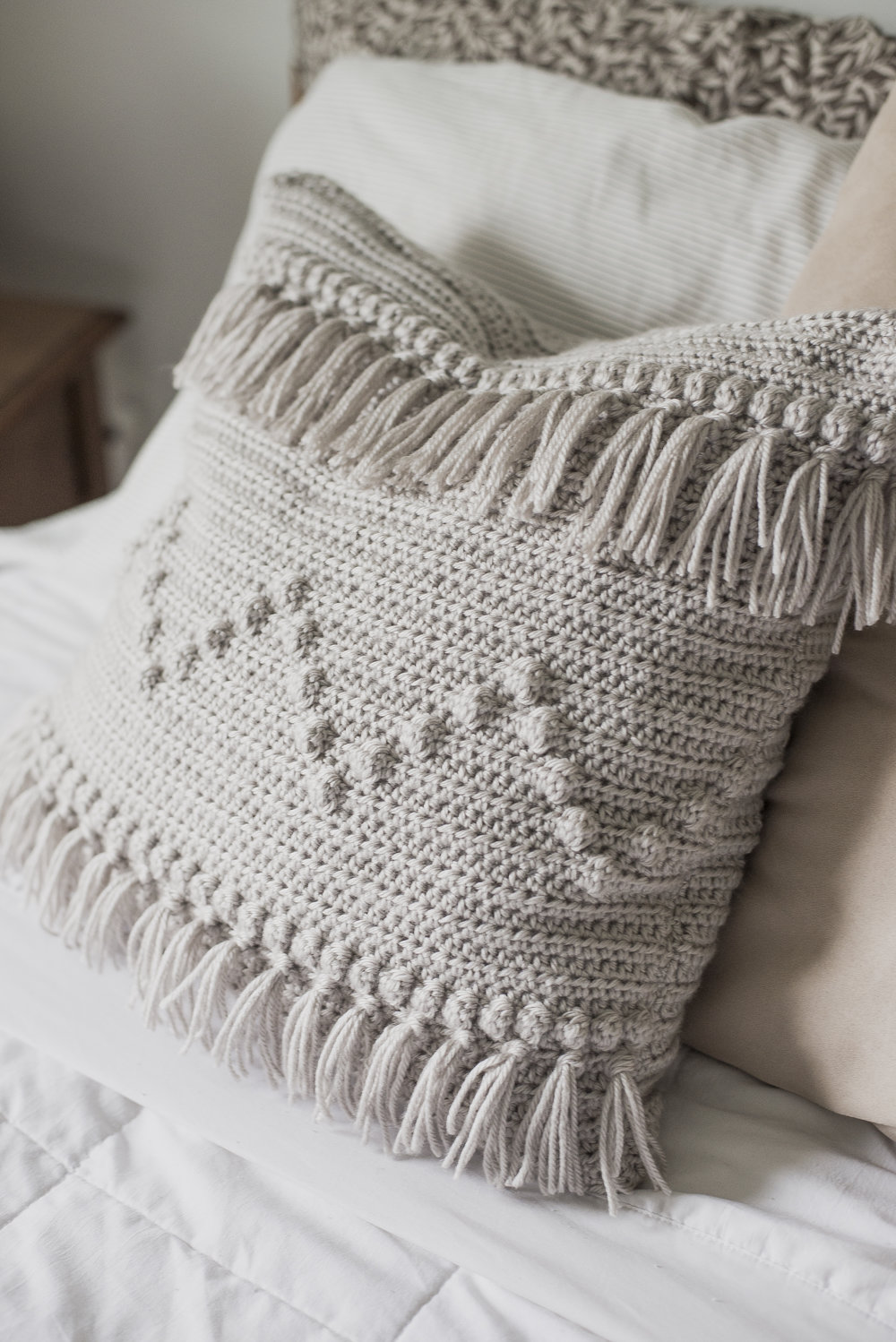 Free Crochet Pattern for a Fringe Crochet Pattern - Megmade with Love