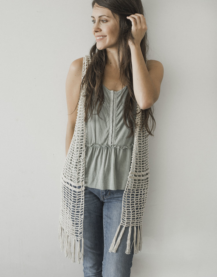 Free Crochet Pattern For The Daydreamer Crochet Vest Megmade With Love