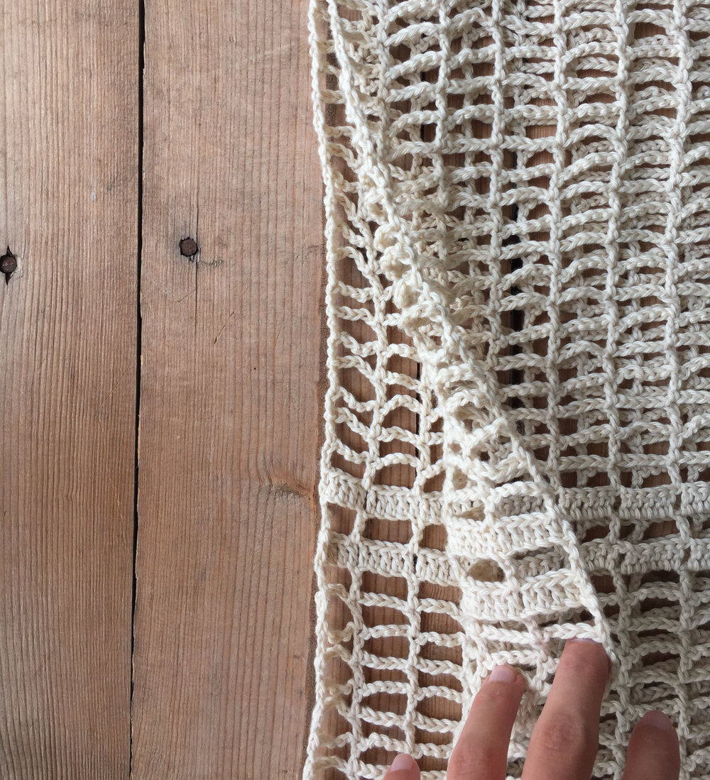 crochet vest Megmade with Love