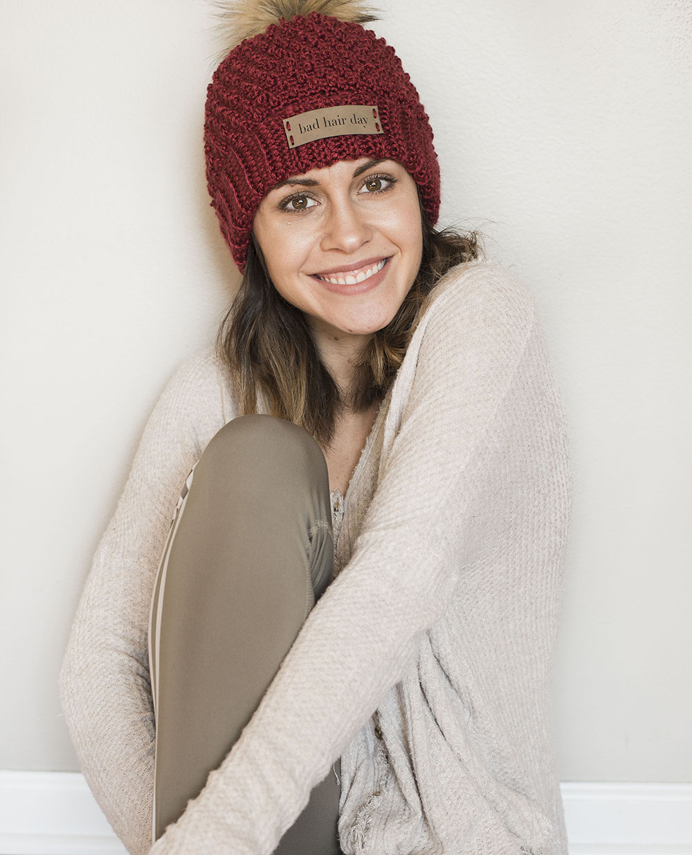 Free Crochet Pattern for the Bad Hair Day Beanie - Megmade with Love