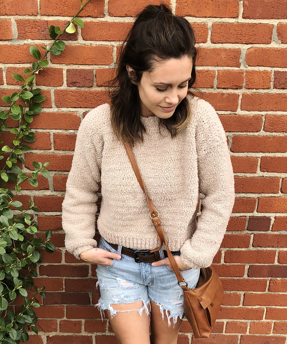Megmade with Love - Crochet Cropped Sweater Pattern