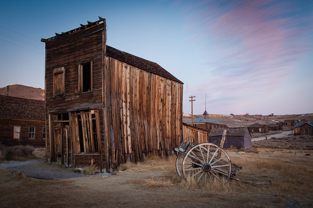 Bodie State Park -A ghost town still standing