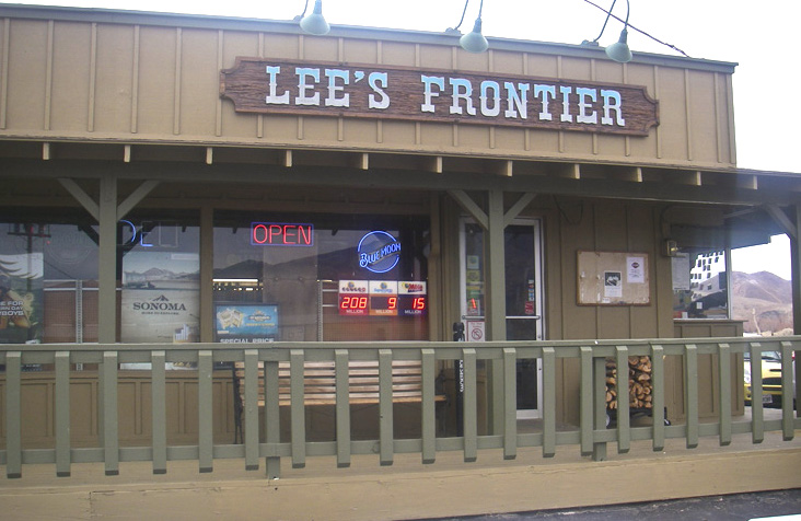 Open 24 hours a day, Lee's Frontier has liquor, a deli, and gas.